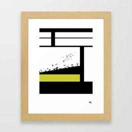 The Get Away Framed Art Print