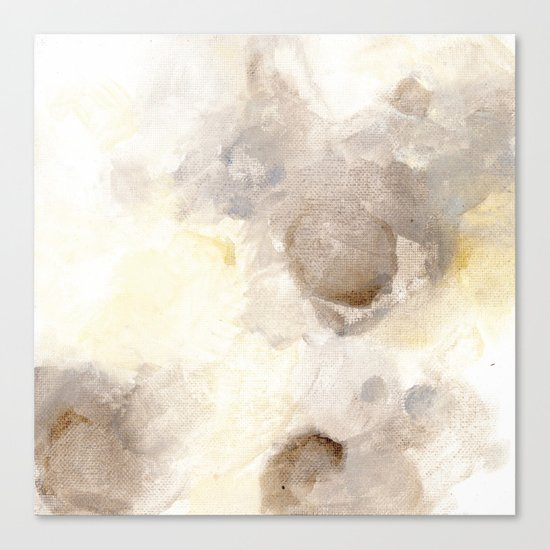 Bloom No. 1 Abstract watercolor floral Canvas Print