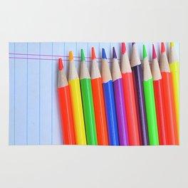 Neon Pencils Rug