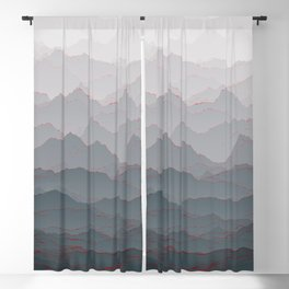 Mountains of Madness I Blackout Curtain