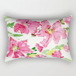 Glad In  Pink Rectangular Pillow