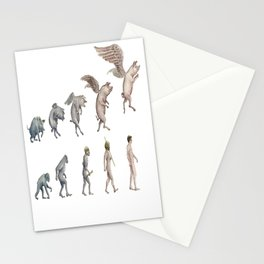 Darwin's Inspiration Mug Stationery Cards
