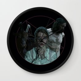 The Witch alternative poster Wall Clock