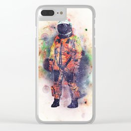 Superfluous Realization Clear iPhone Case