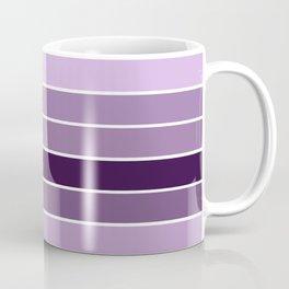 Lavender Purple Stripes Coffee Mug