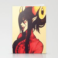 homestuck Stationery Cards featuring Witch of Time by Lokyism