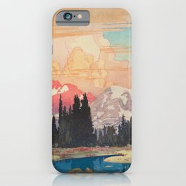 Storms over Keiisino iPhone Case