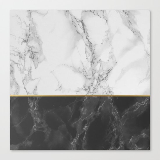 Marble #4 Canvas Print