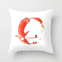 The Ring #2 Throw Pillow