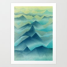 Top of the World Art Print