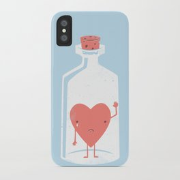 Let the LOVE Out iPhone Case