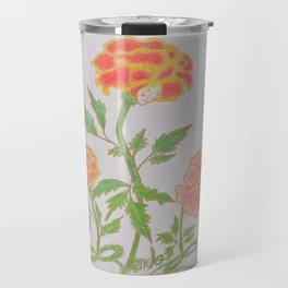 Flor De Fantasias Marigold Travel Mug
