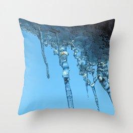 Ice Photo 2 Throw Pillow