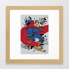 Thor fooks sake  Framed Art Print