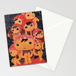 Swim Team Stationery Cards