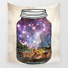 Love Can Move Mountains Wall Tapestry
