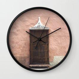 The Doors of Merida IIII Wall Clock