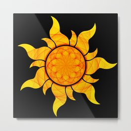 Seeds of the Sun  Metal Print