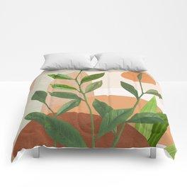 Nature Geometry XII Comforters