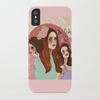 lana iPhone & iPod Cases featuring Lana by Clementine Petrova