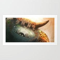 Forest Keeper Art Print