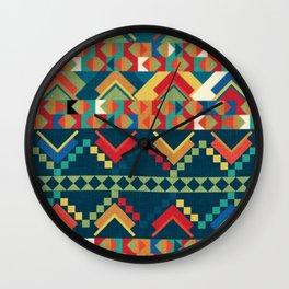Indi-abstract#12 Wall Clock