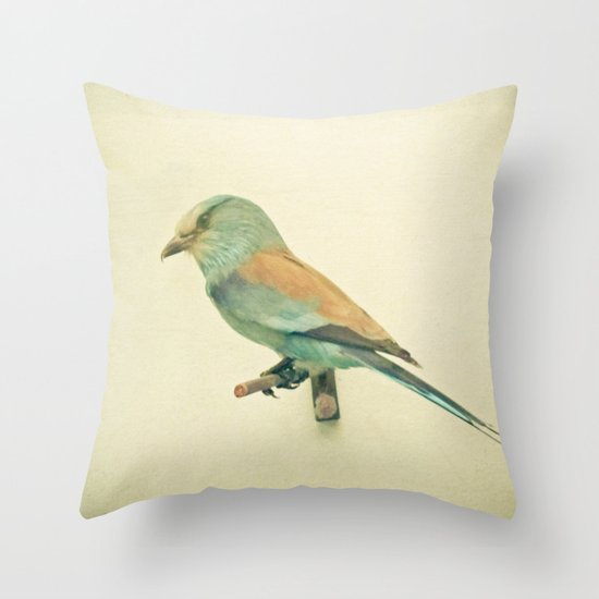 Bird Study #2 Throw Pillow