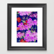 Oriental Bloom Framed Art Print