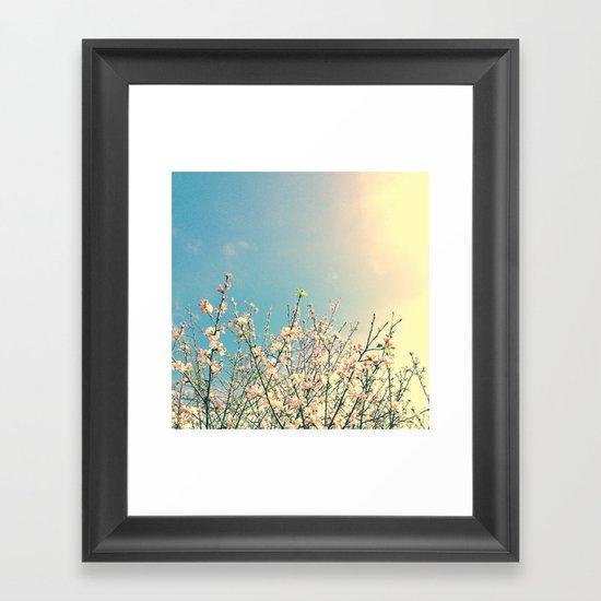 Bloom Pink Framed Art Print