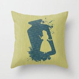 Drink me! Throw Pillow