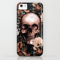 SKULL AND FLOWERS II Slim Case iPhone 5c