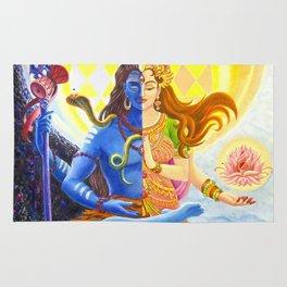 Shiva and Shakti Rug