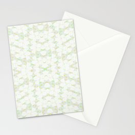 Ghost Kaleidoscope (Citrine) Stationery Cards