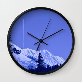 True Blue Wall Clock