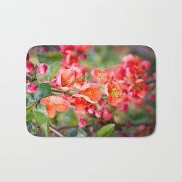 Quince blossom Bath Mat