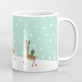 Christmas gifts from the reindeer #society6 #homedecor Coffee Mug