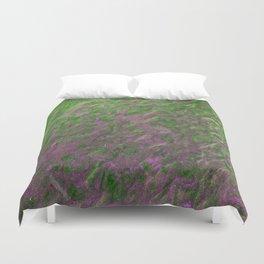 Green Purple Sand Duvet Cover