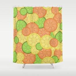 Zesty Pattern Shower Curtain