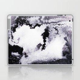 titanium white / carbon black / silver Laptop & iPad Skin