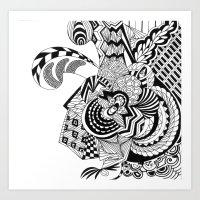 The Escape Art Print