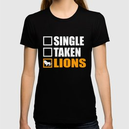 hunter, lion, animal T-shirt