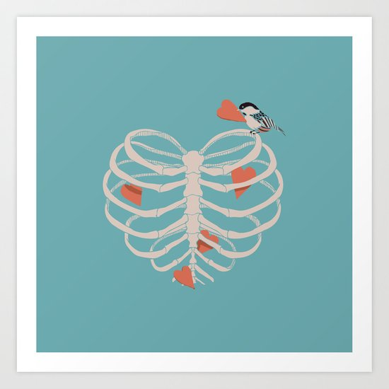 The Heart Collector Art Print