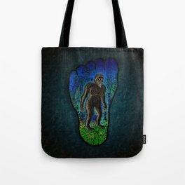 Big Foot Woodsman Tote Bag
