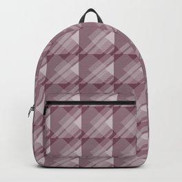 Modern Geometric Pattern 7 in Mulberry Backpack