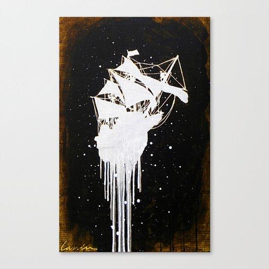 """""""Le Dernier Voyage"""" Canvas Print"""