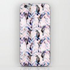 Zebras in bloom iPhone & iPod Skin