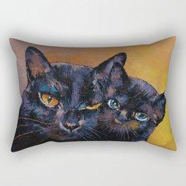 Bombay Cat with Kitten Rectangular Pillow
