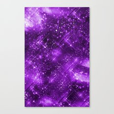 Dazzling Series (Purple) Canvas Print
