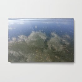 Sky and Sea Metal Print