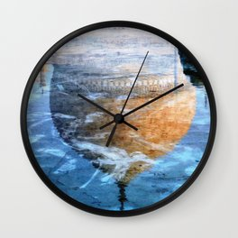 Taj Mirage Wall Clock